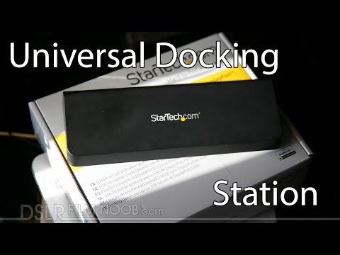 StarTech Universal USB 3.0 4K Laptop Docking Station Review - DSLR FILM NOOB