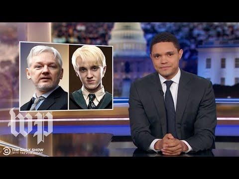 Late-night TV hosts react to Julian Assange's arrest