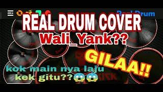 Download Lagu REAL DRUM COVER | WALI_YANK,, LAGU LAMA INI MAIN DRUM NYA KOK BISA KEREN GINI SIH?? mp3