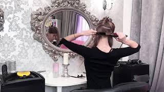 Видео урок укладки на длинные волосы от салона ArinWest