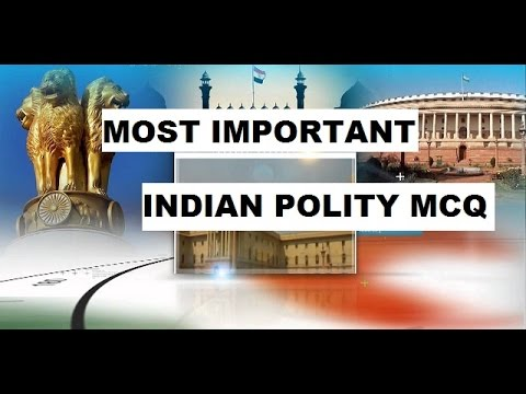 MOST IMPORTANT INDIAN POLITY MCQ | SSC CGL/MTS/CHSL/RAILWAY/UPSC/UPSSSC/RAILWAY