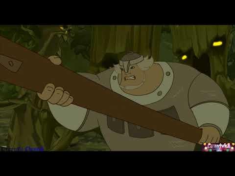 Сражение Добрыни с Тёмной Силой ... отрывок из мультфильма (Добрыня Никитич и Змей Горыныч)2006