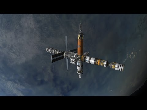 Kerbal Space Program - Interplanetary Voyage - 016 - Space Stations Galore - Lets Play Season 2