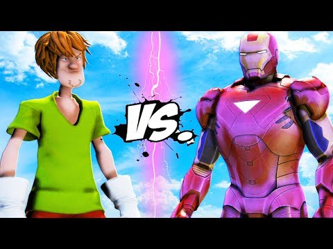 SHAGGY (Scooby Doo) VS IRON MAN - EPIC BATTLE