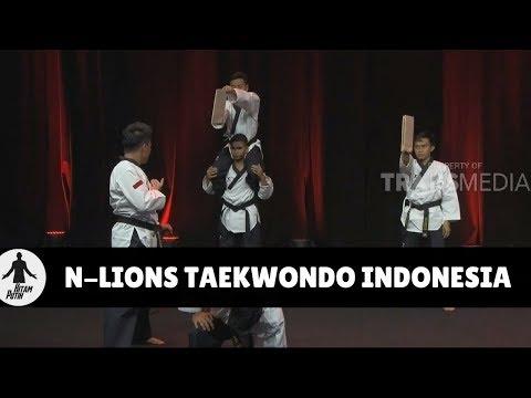 N-LIONS TAEKWONDO INDONESIA | HITAM PUTIH (21/03/18) 1-4