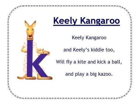 I A Kangaroo Song Alphafriends: Keely Ka...