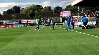 Leyton Orient vs boreham wood fc Vlog away day!!