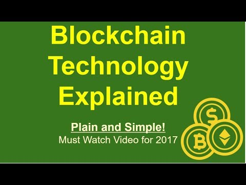 Blockchain Technology Explained  (Plain and Simple)