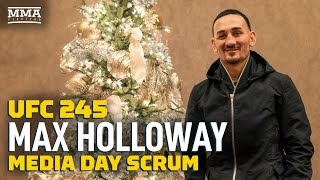 UFC 245: Max Holloway Doesn't Like Comparing Alexander Volkanovski To Chad Mendes - MMA Fighting