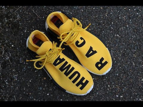 Pharrell Gives Us Another Look At The adidas NMD Human Race