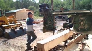 Sharpening A Bandsaw Mill