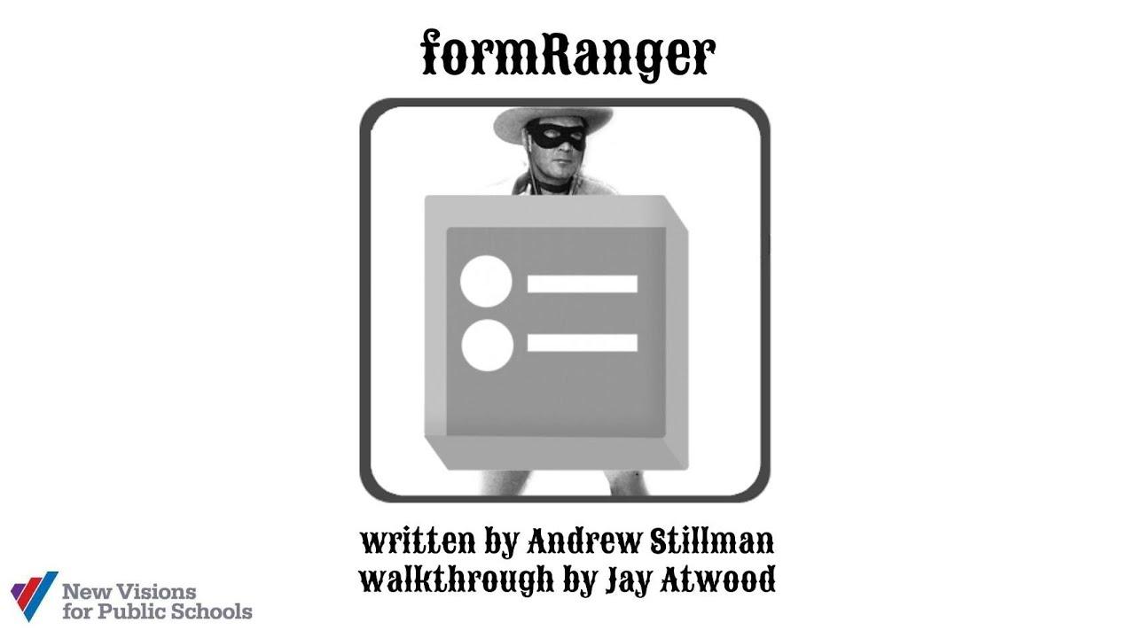 formRanger Walkthrough