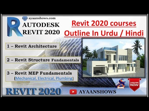Outline Revit 2019 course in urdu / Hindi – AYAAN SHOWS