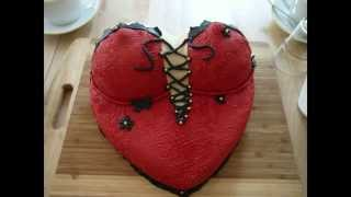 Video Busentorte - mit Fondant - Motivtorte - Kuchen backen + dekorieren Valentinstag valentine's day download MP3, 3GP, MP4, WEBM, AVI, FLV Juli 2018