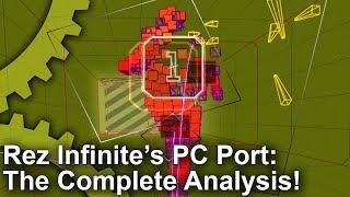 [4K] Rez Infinite's Surprise PC Port Tested! PC vs PS4 Pro vs PS2/Dreamcast!