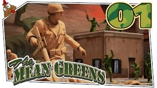 The Mean Greens Plastic Warfare #01 - Die Army Men sind zurück! | deutsch