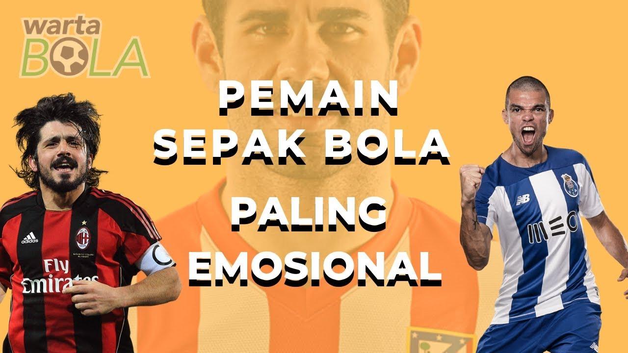 5 Pemain Sepak Bola Paling Emosional