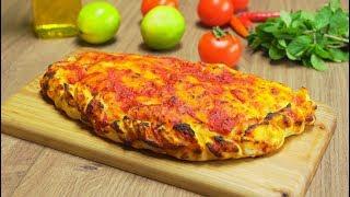 Кальцоне Закрытая пицца Итальянская кухня Видео рецепт от Всегда Вкусно