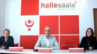 Halle (Saale): Video-Pressekonferenz vom 23. März 2020 zur aktuellen Corona-Lage