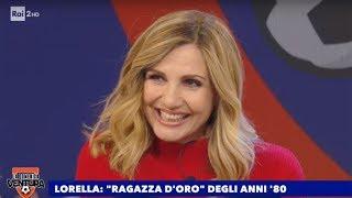 Lorella Cuccarini, la ragazza d'oro degli anni '80 - La Domenica Ventura 10/11/2019