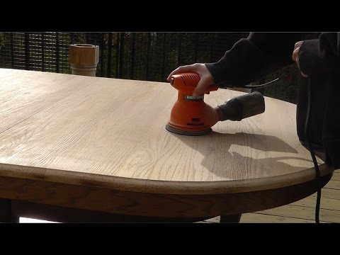 DIY: How Refinish A Table (table top) - Part 1