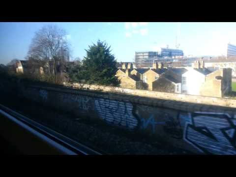 Peckham Rye to Brixton by train   2nd January 2017