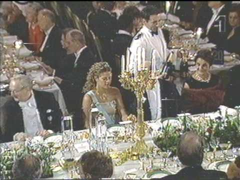The royal family at the Nobel Prize in 2000