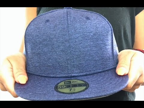 35631af554648 New Era  59FIFTY-BLANK  Navy Shadow Tech Fitted Hat - YouTube