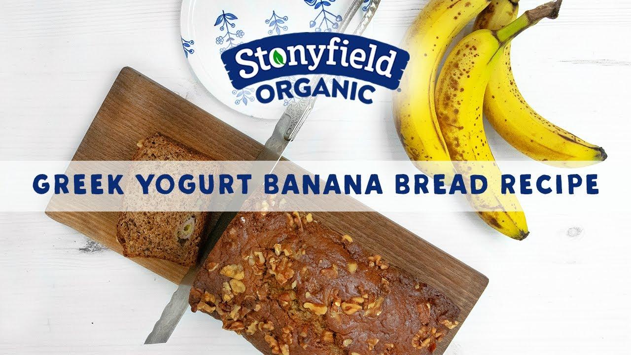 Greek Yogurt Banana Bread Recipe Youtube
