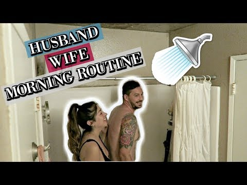 OUR HUSBAND WIFE (COUPLES) MORNING ROUTINE *MARRIED*