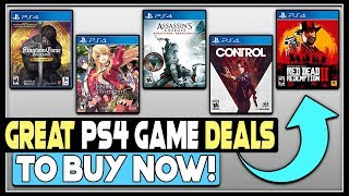 GREAT PS4 Game Deals + 2 NEW PlayStation 4 Games REVEALED!