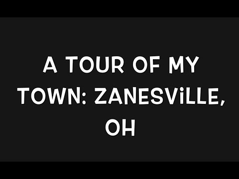 A Tour Of My Town: Zanesville, OH -- Vlogmas Day 10-- 12/10/19