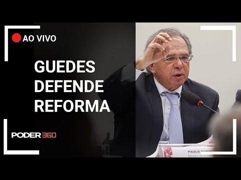 Paulo Guedes defende reforma da Previdência em comissão especial