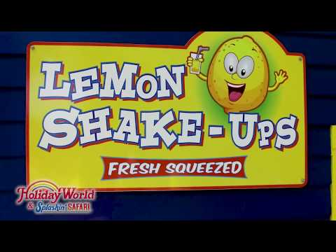 Lemon Shake-Ups at Holiday World