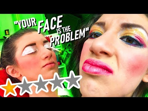 I WENT TO THE WORST REVIEWED MAKEUP ARTIST IN MY CITY - Episode 10000 thumbnail