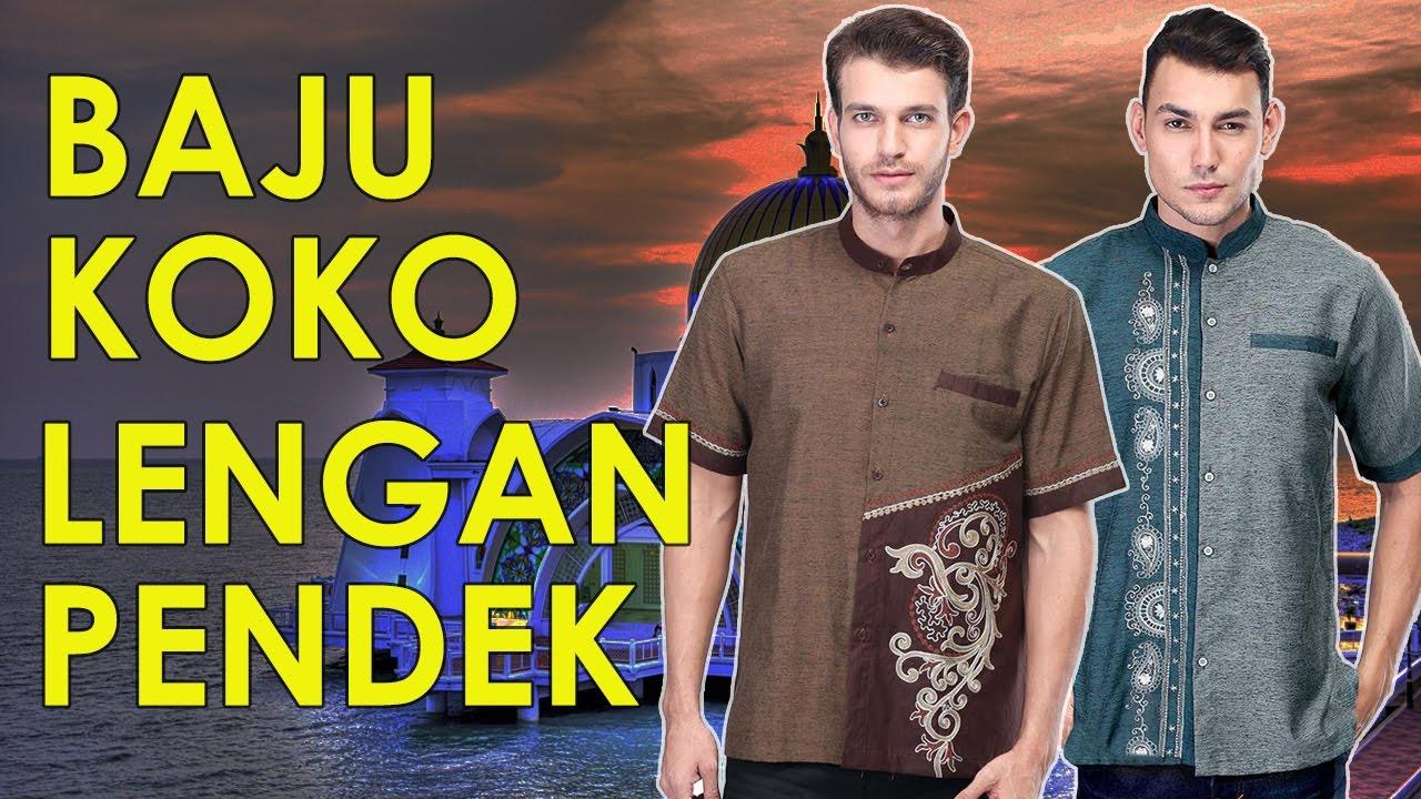 Baju Koko Lengan Pendek Model Terbaru Youtube Modern 14