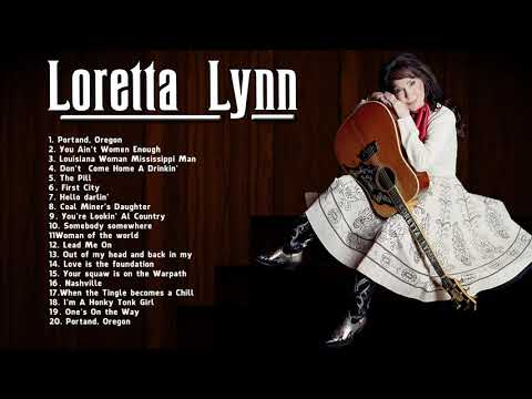 Loretta Lynn Greatest Hits (Full Album) - Loretta Lynn Best Country Music Songs
