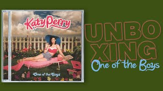 Katy Perry - One of the Boys (CD UNBOXING)