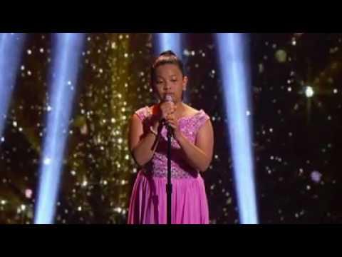 Chandelier by 12 years old girl - ELHA - YouTube