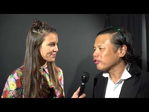 Zang Toi Spring 2018 Runway /Designer Inteview