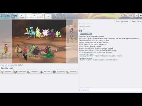 ORAS Pokemon Showdown OU Ladder: Pokemon Should Be Like Call of Duty???