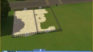 Sims 3 : A la recherche de la licorne : construction terrain 2 : Les deux carriere !!