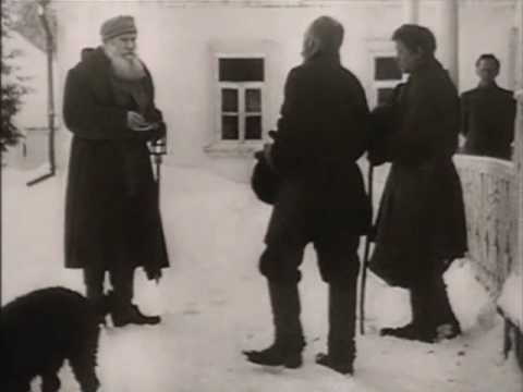 Leo Tolstoy - on film