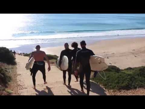 Algarve, Portugal  : Surf Trip, 2015 : 1080p