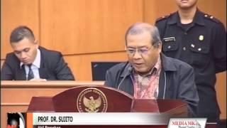 [video]Pancasila Bukan sebagai Pilar Dipaparkan Ahli Pemohon Uji UU Parpol