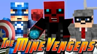 Minecraft MineVengers - STOPPING RED SKULLS EVIL PLANS!