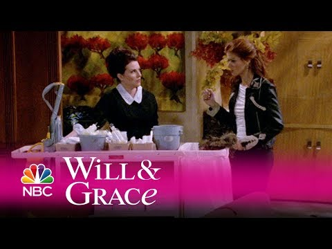 Will & Grace - Grace Catches Karen Cleaning (Highlight) from YouTube · Duration:  2 minutes 44 seconds