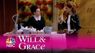 Will & grace - grace catches karen cleaning (highlight)