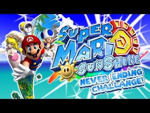 Super Mario Sunshine | Never Ending Challange