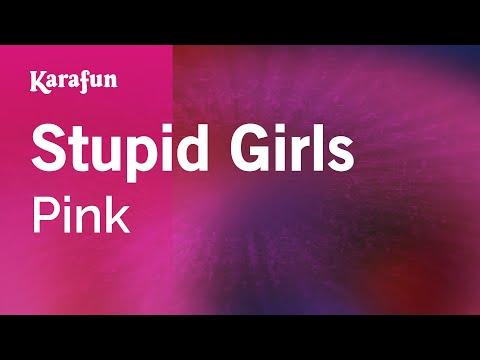 Karaoke Stupid Girls - Pink *